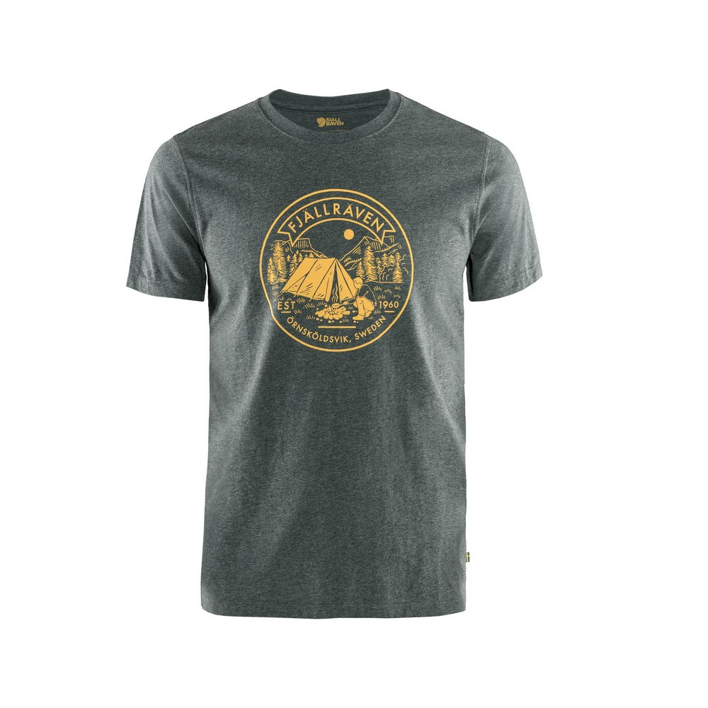 """Fjällräven """"Lägerplats T-shirt M"""" - stone grey"""