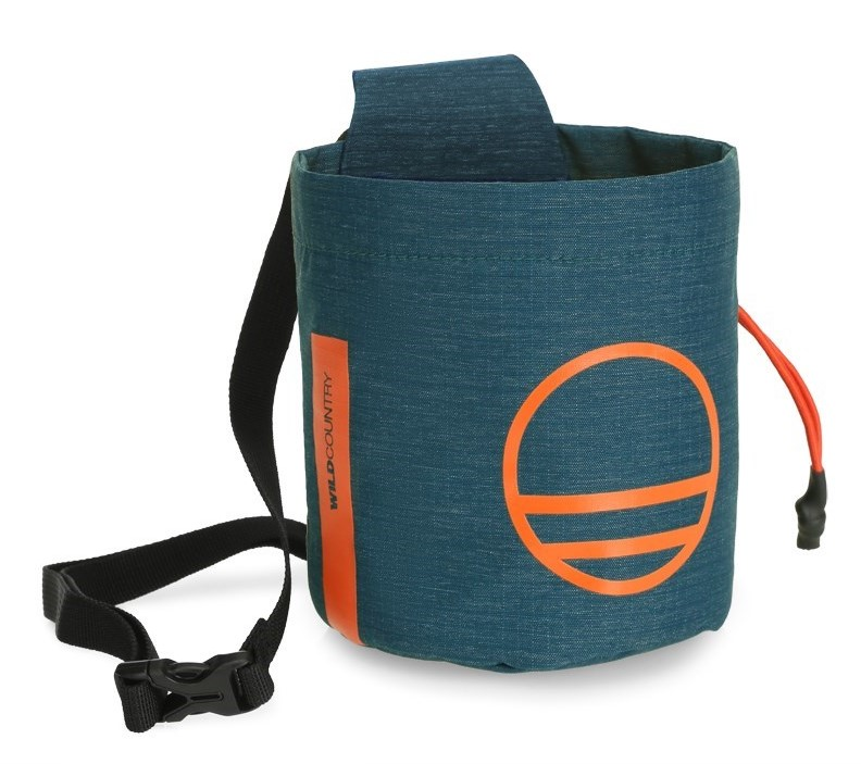 """Wild Country """"Session Chalk Bag"""" - petrol"""