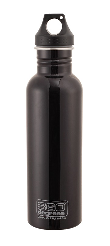 "360 Degrees ""Drink Bottle 750ml"" - black"