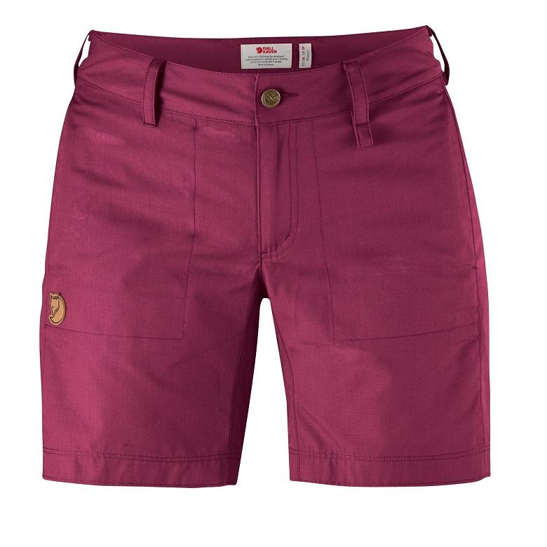 """Fjällräven """"Abisko Shade Shorts W"""" - plum"""