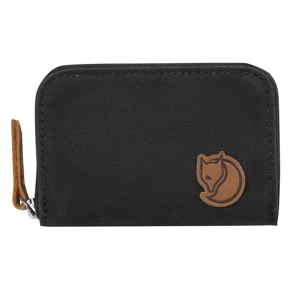 "Fjällraven ""Zip Card Holder"" - dark grey"