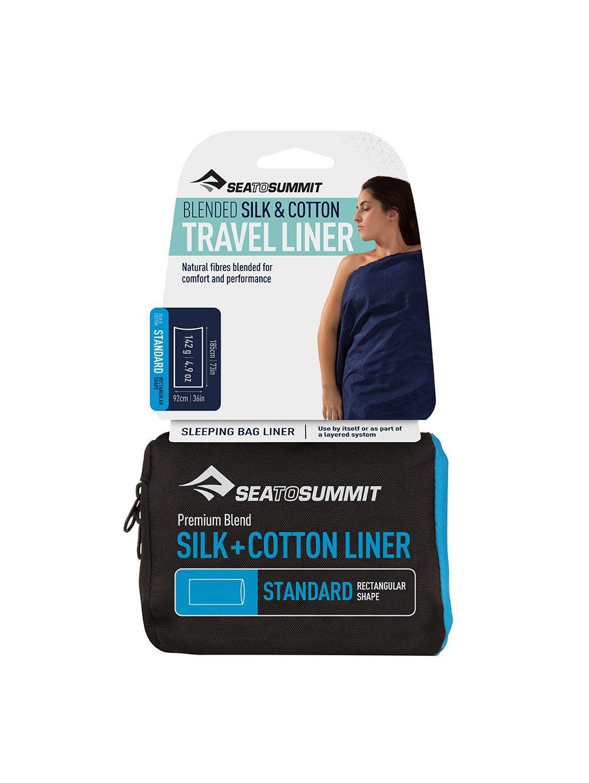 """Sea to Summit """"Silk&Cotton Travel Liner"""" - Standard"""