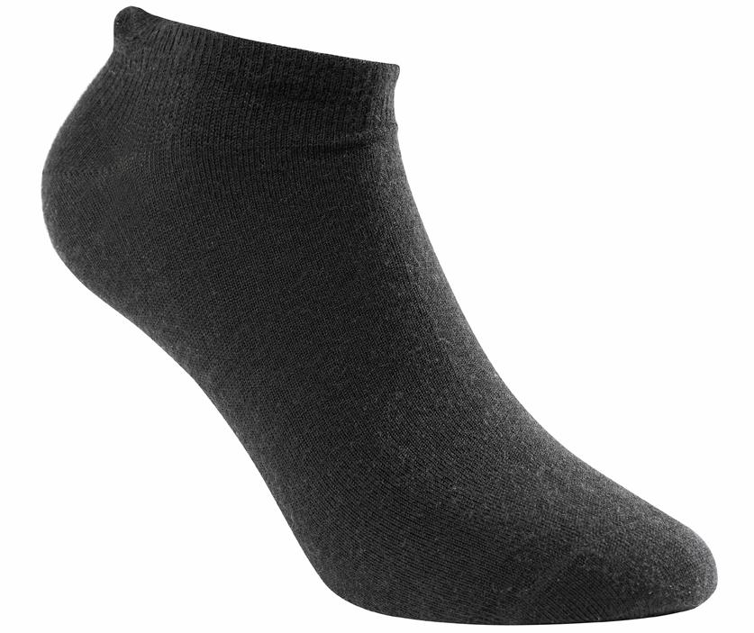 "Woolpower ""Lite Socks Liner Short"" - black"