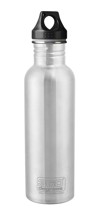 "360 Degrees ""Drink Bottle 750ml"" - steel"