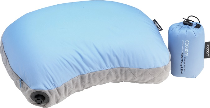 "Cocoon ""Air Core Hood/ Camp Pillow UL"" - light blue"