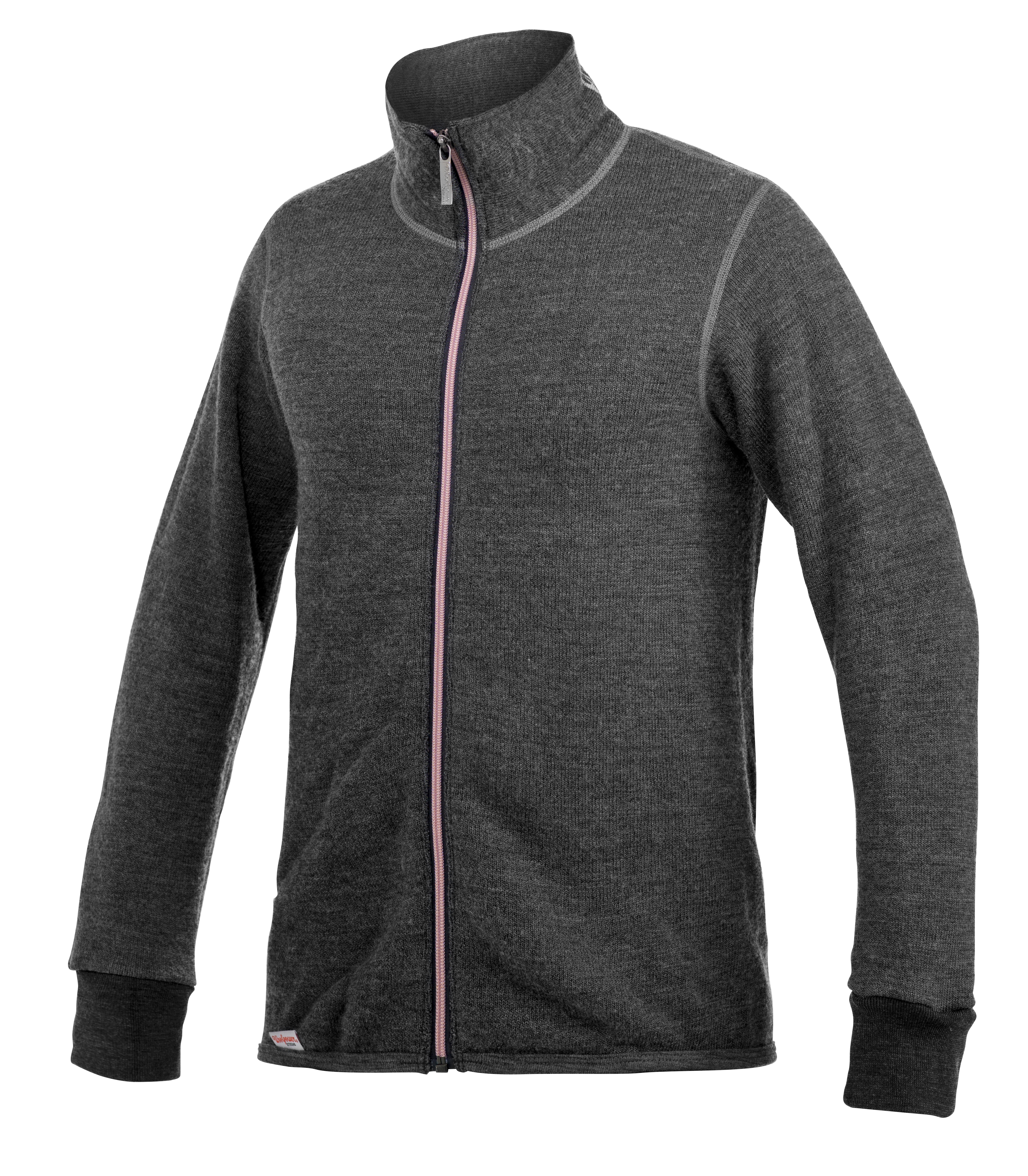 """Woolpower """"400 Jacket Colour Collection"""" - grey/ rose"""