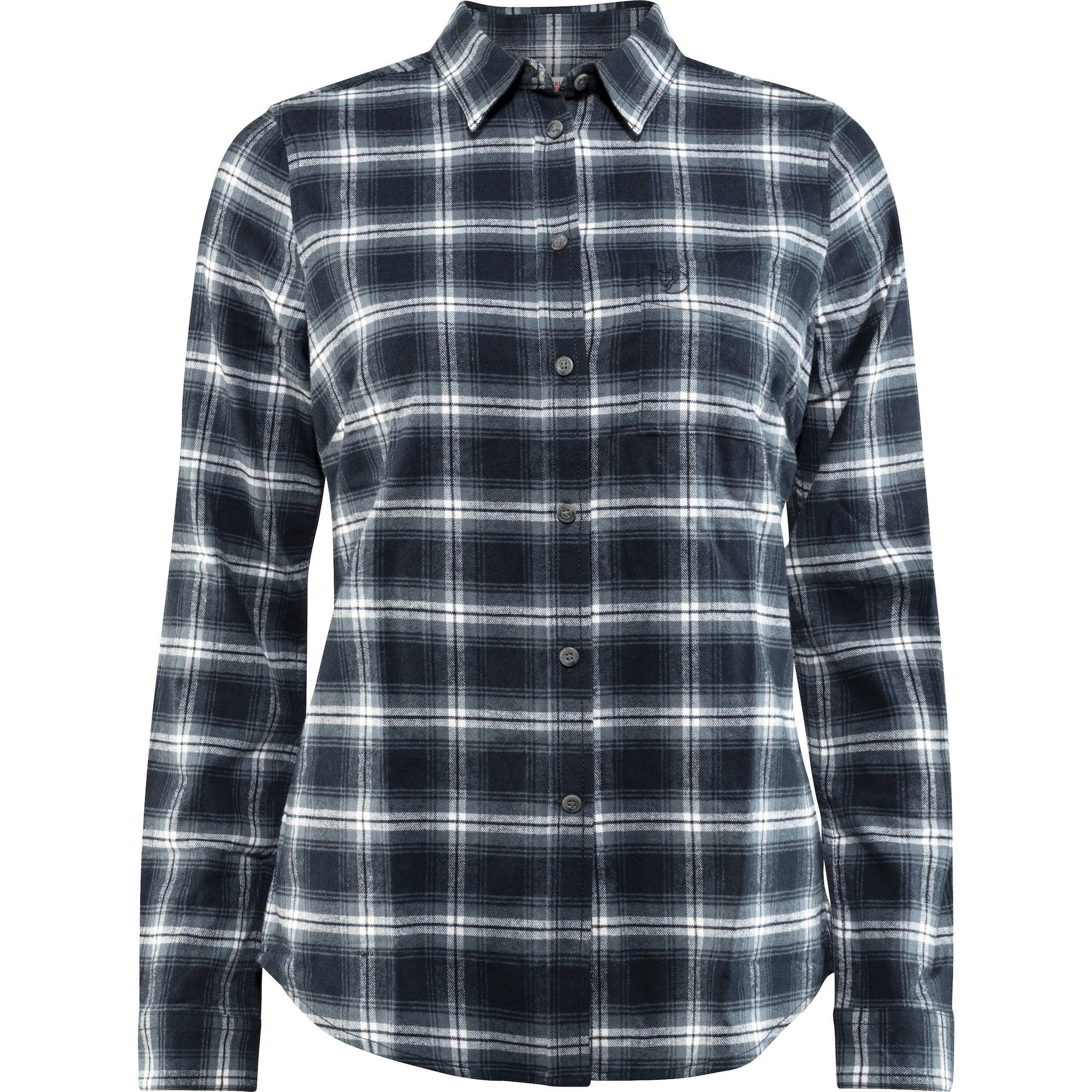 "Fjällraven ""Övik Flannel Shirt W"" - dark navy"