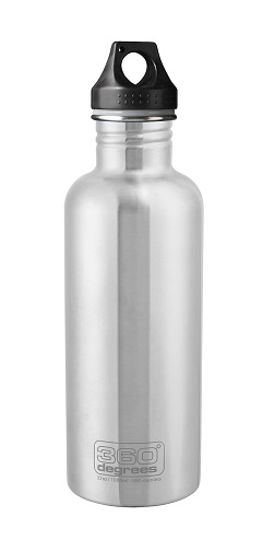 "360 Degrees ""Drink Bottle 1000ml"" - steel"
