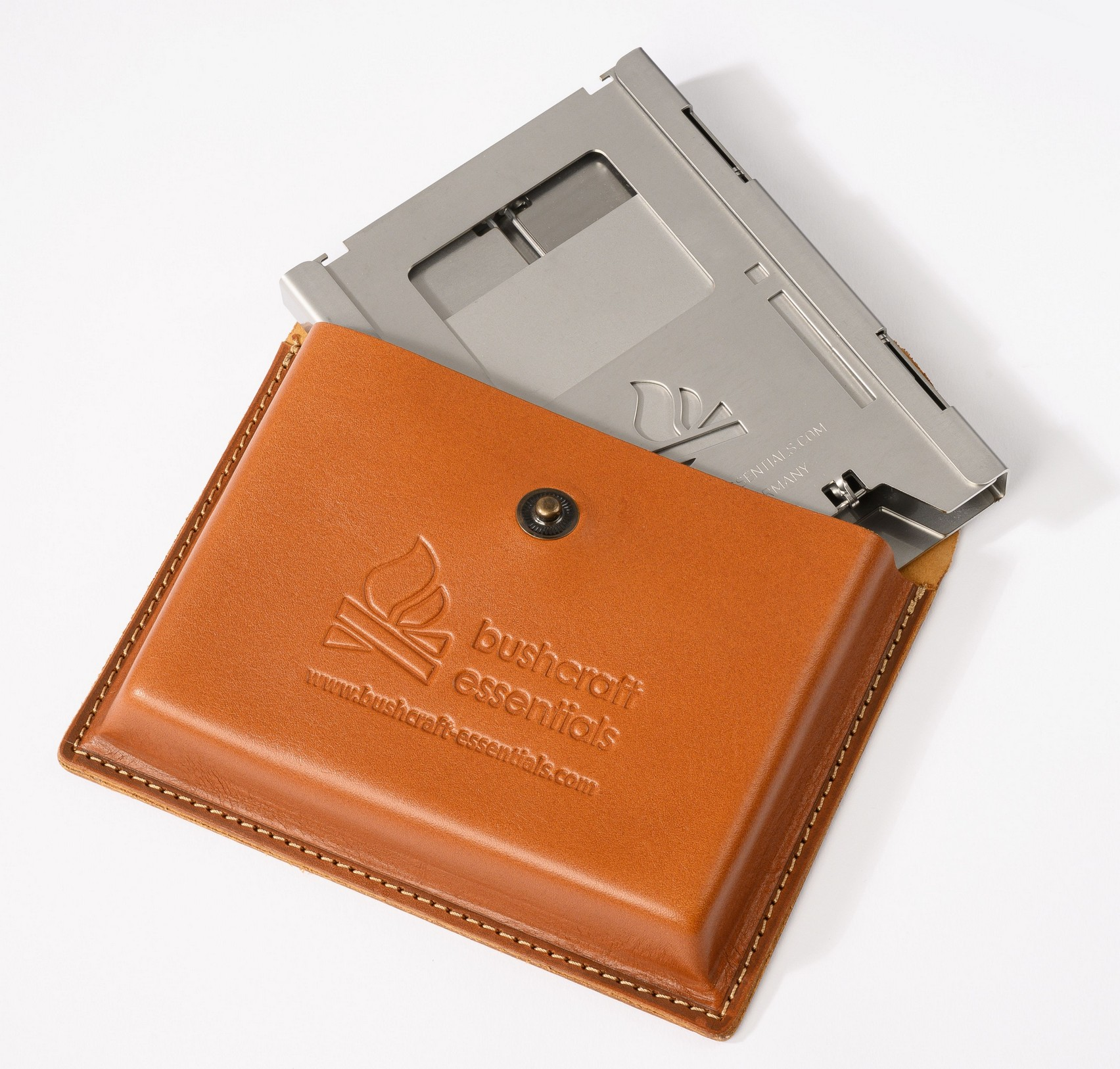 """Bushcraft Essentials """"Ledertasche für Buschbox LF"""""""