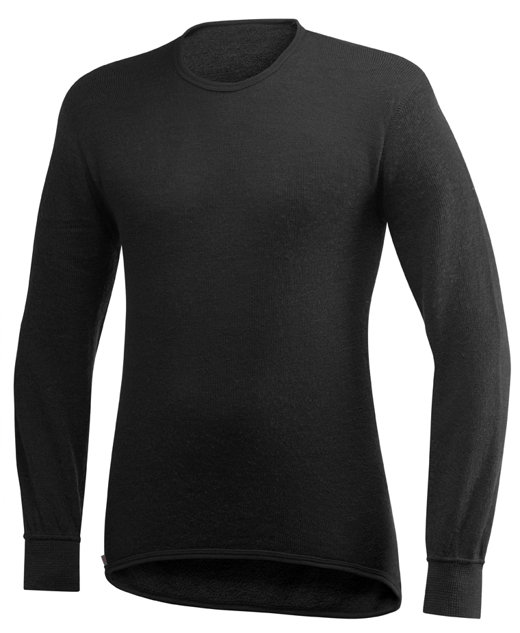 "Woolpower ""200 Crewneck"" - black"