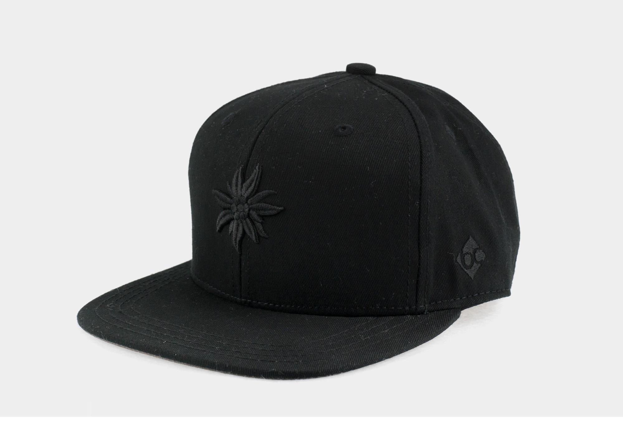"Bavarian Cap ""Edelweiß"" - urban black"