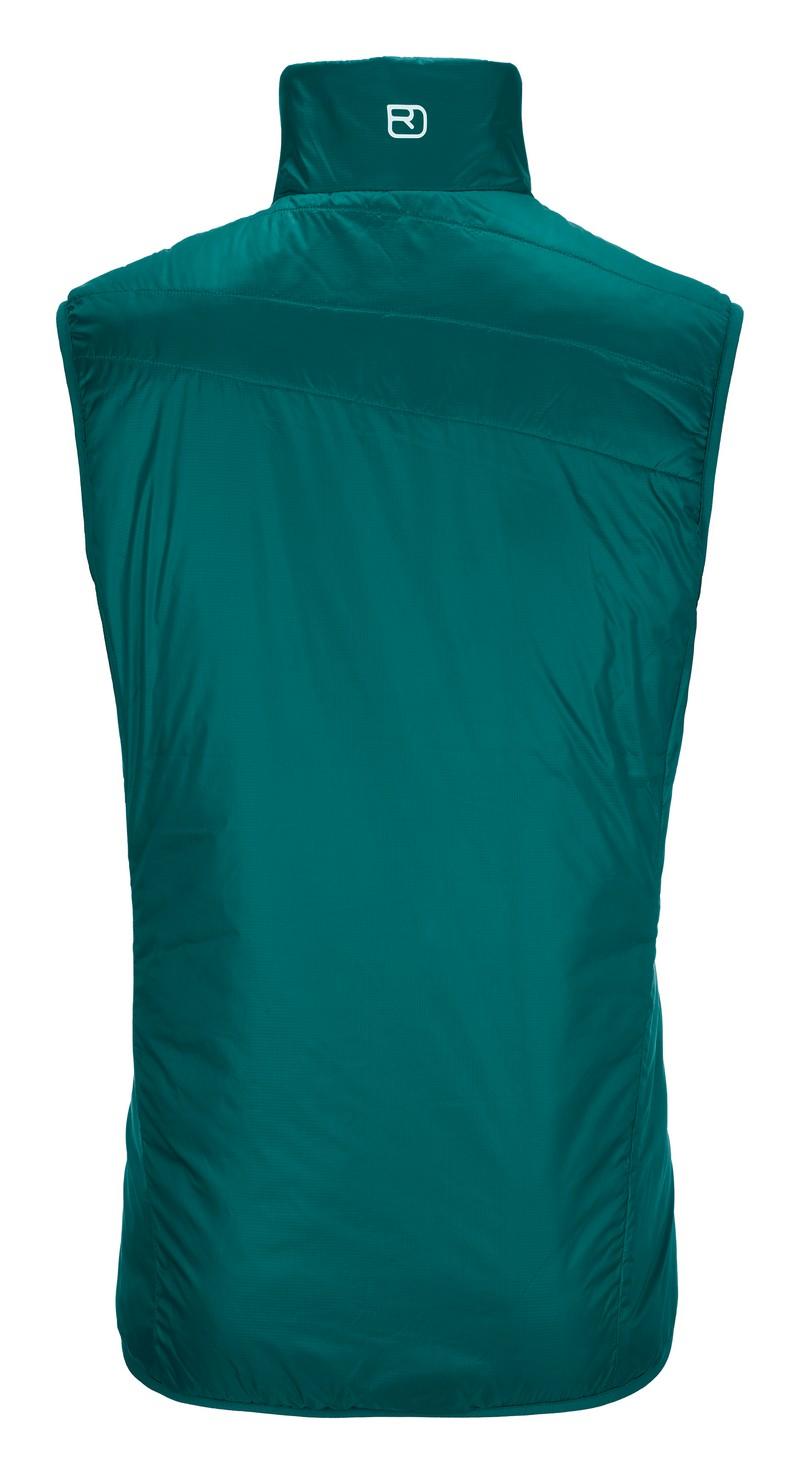 "Ortovox ""Swisswool Piz Cartas Vest M"" - pacific green"