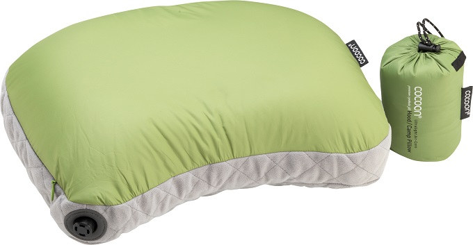 "Cocoon ""Air Core Hood/ Camp Pillow UL"" - wasabi"