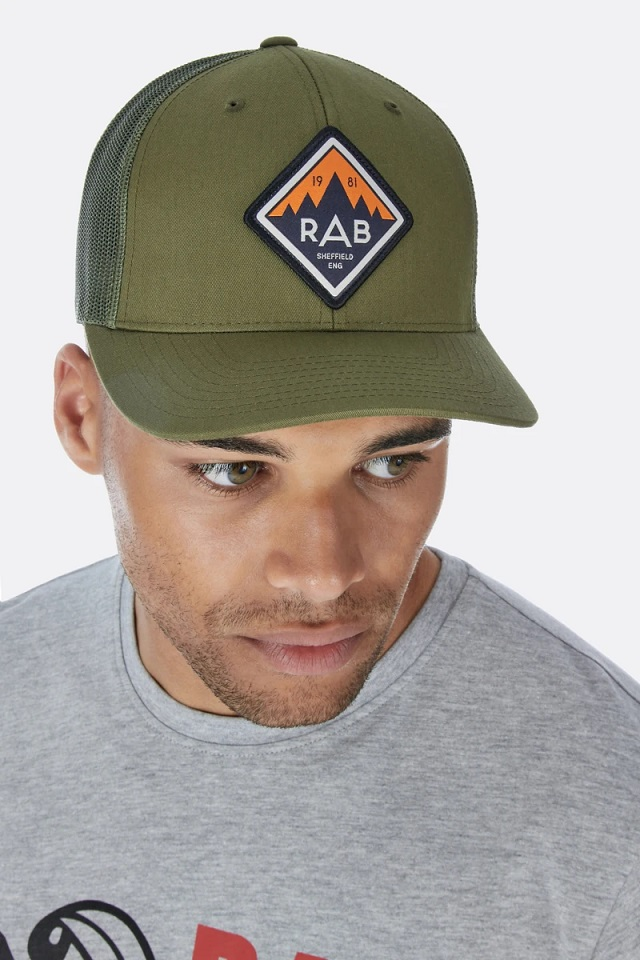 """Rab """"Freight Cap"""" - moss green"""
