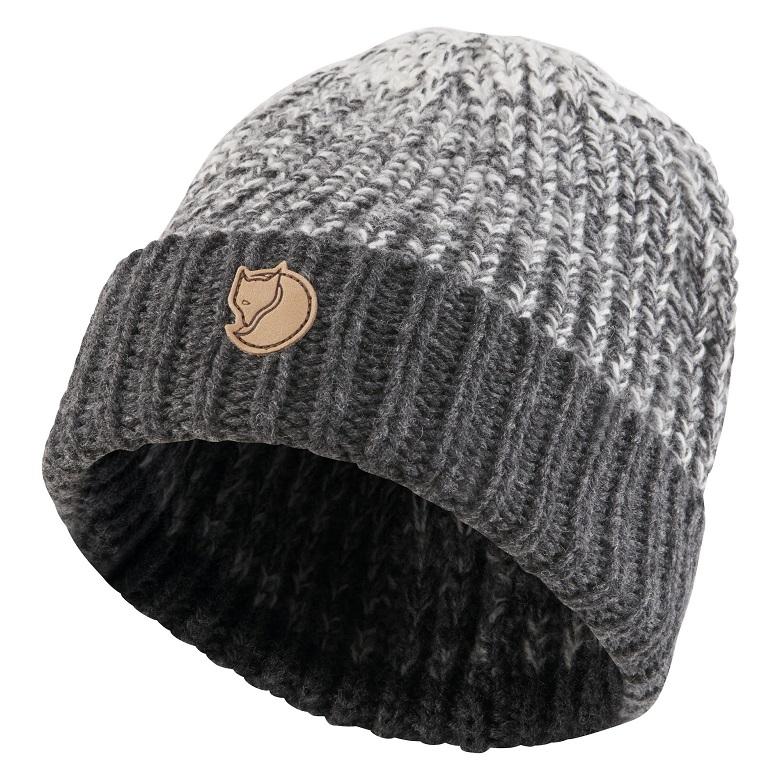 """Fjällräven """"Chunky Hat"""" - dark grey"""