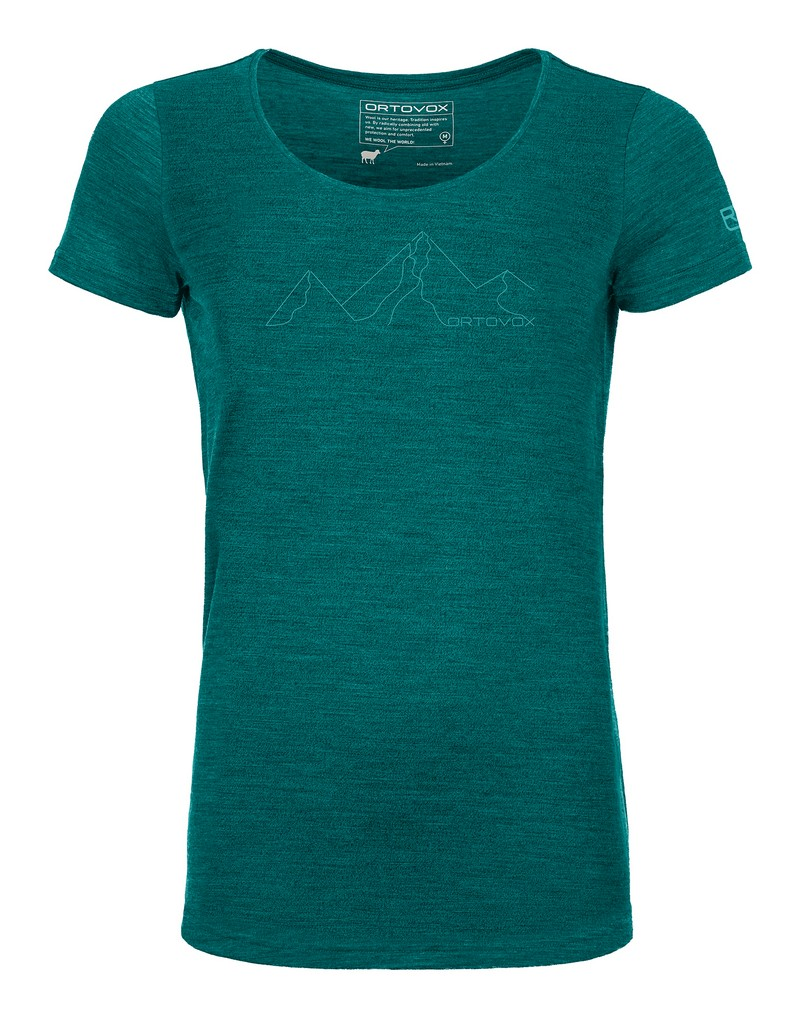 """Ortovox """"150 Cool Mountain Face TS W"""" - pacific green"""