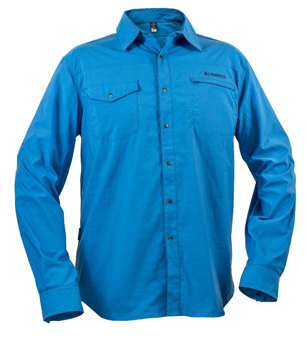 "Warmpeace ""Moody Shirt"" - blue"