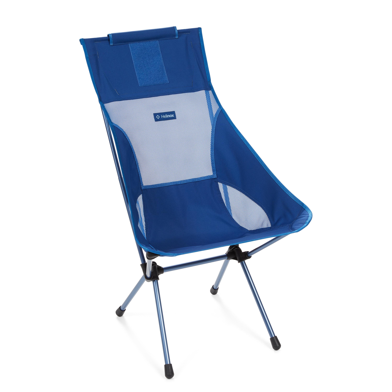 "Helinox ""Sunset Chair"" - blue block"
