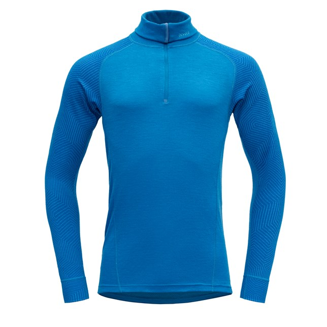 "Devold ""Duo Active Man Zip Neck"" - Skydiver"