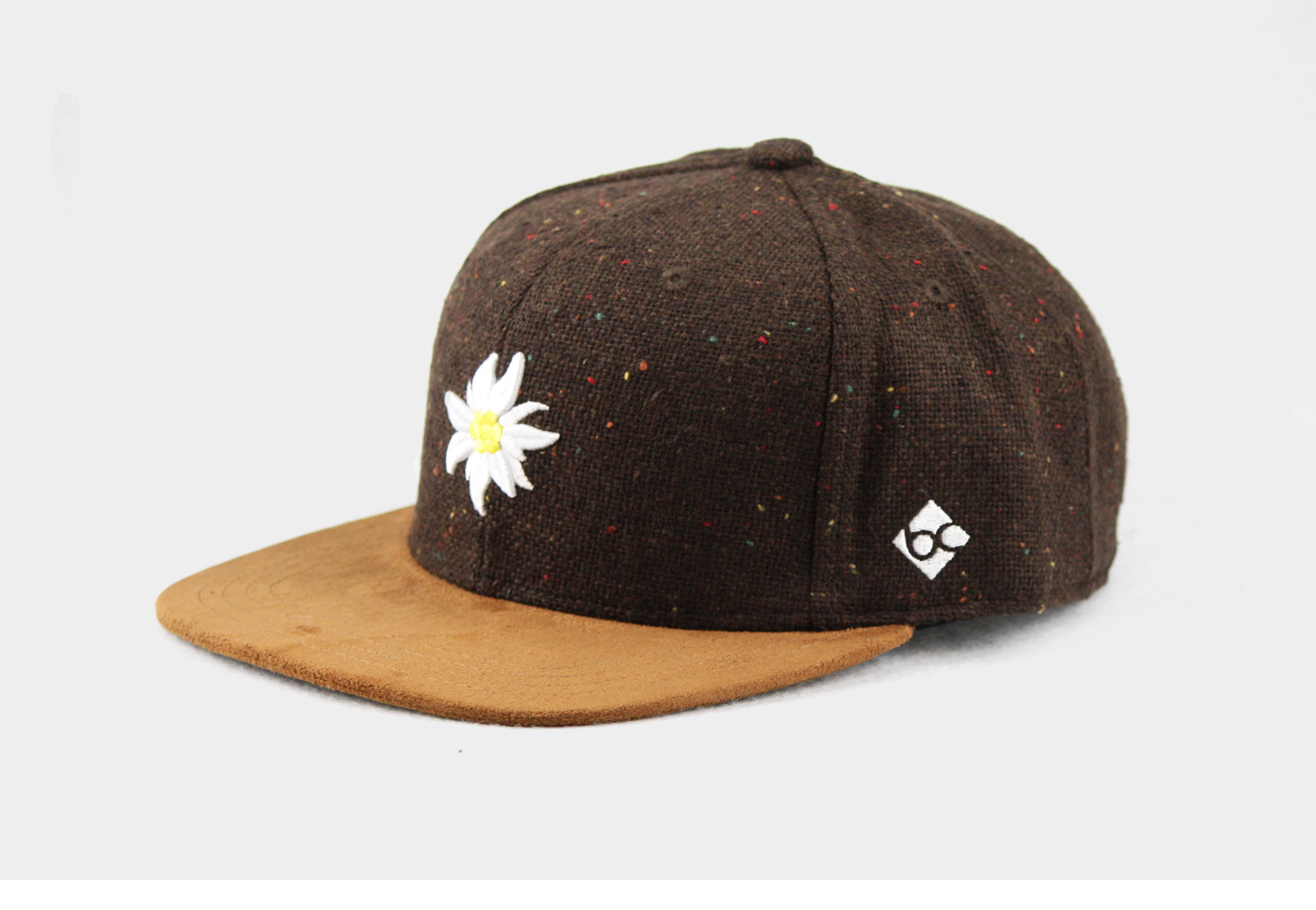 "Bavarian Caps ""Edelweiß"" - flanell"