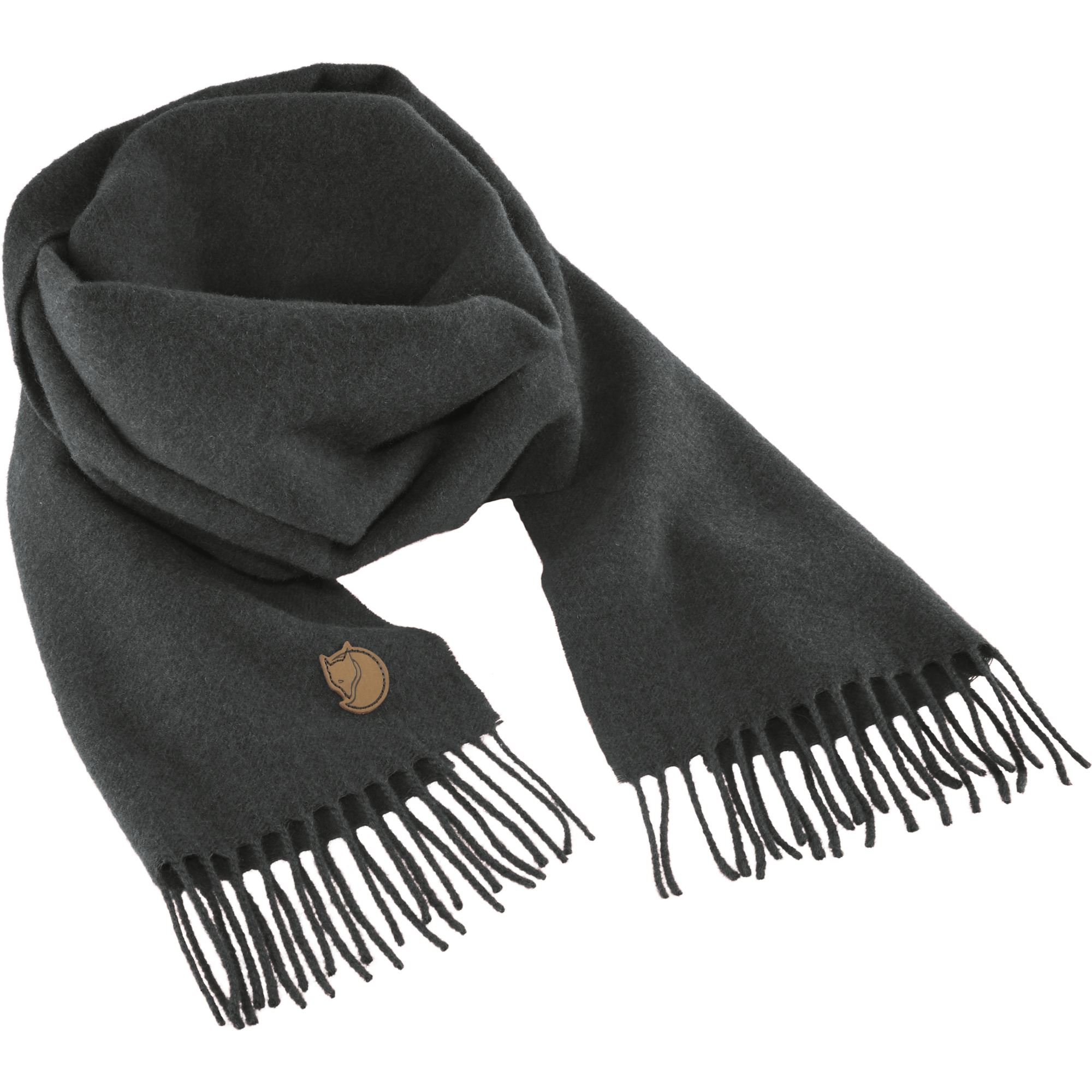"Fjällräven ""Solid Re-Wool Scarf"" - dark grey"