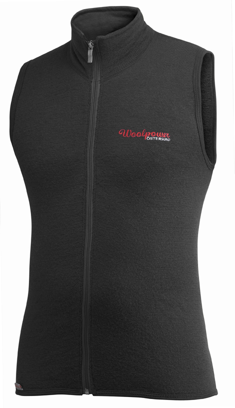 "Woolpower ""400 Vest"" - Black"
