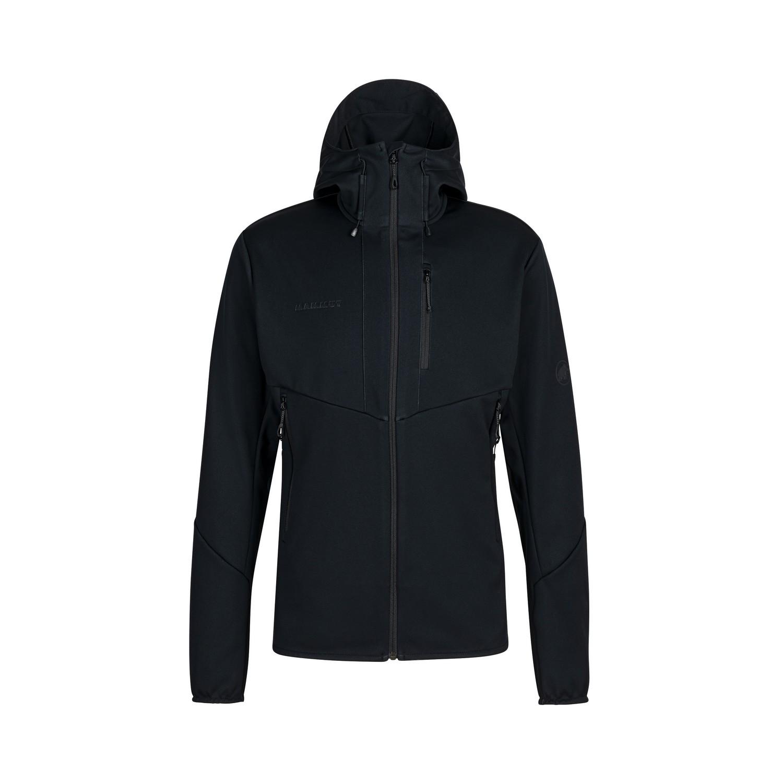 """Mammut Softshelljacke """"Ultimate VI SO Hooded Jacket M"""" - schwarz"""