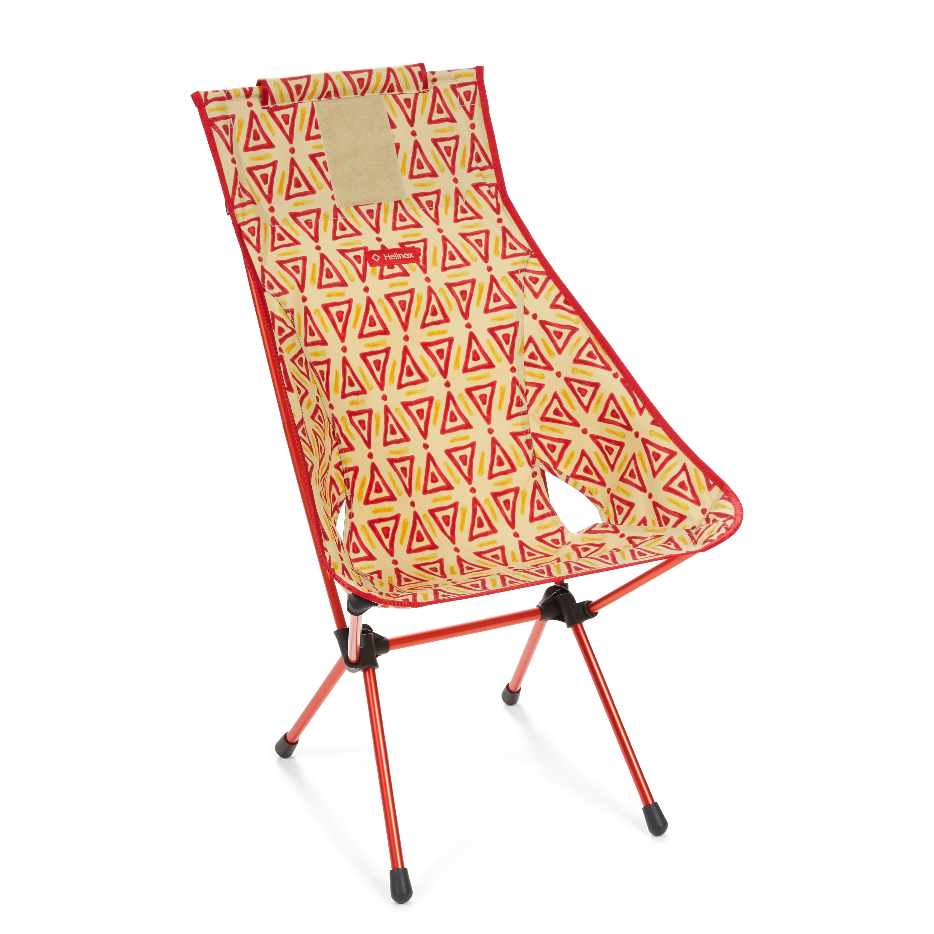 """Helinox """"Sunset Chair"""" - triangle red"""
