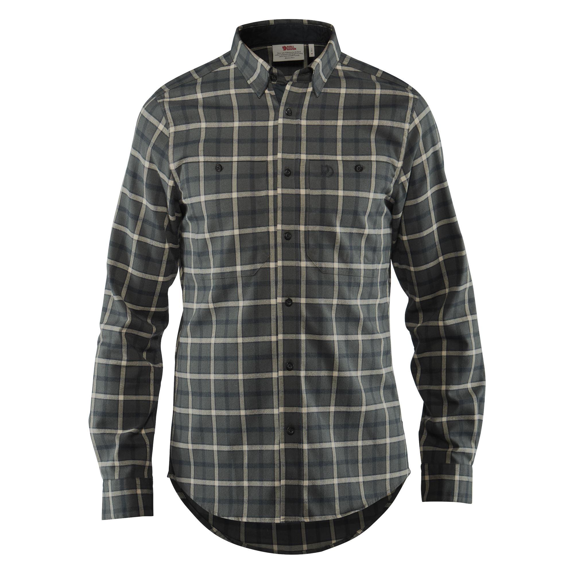 """Fjällräven """"Fjällslim Shirt LS M""""- ash grey"""