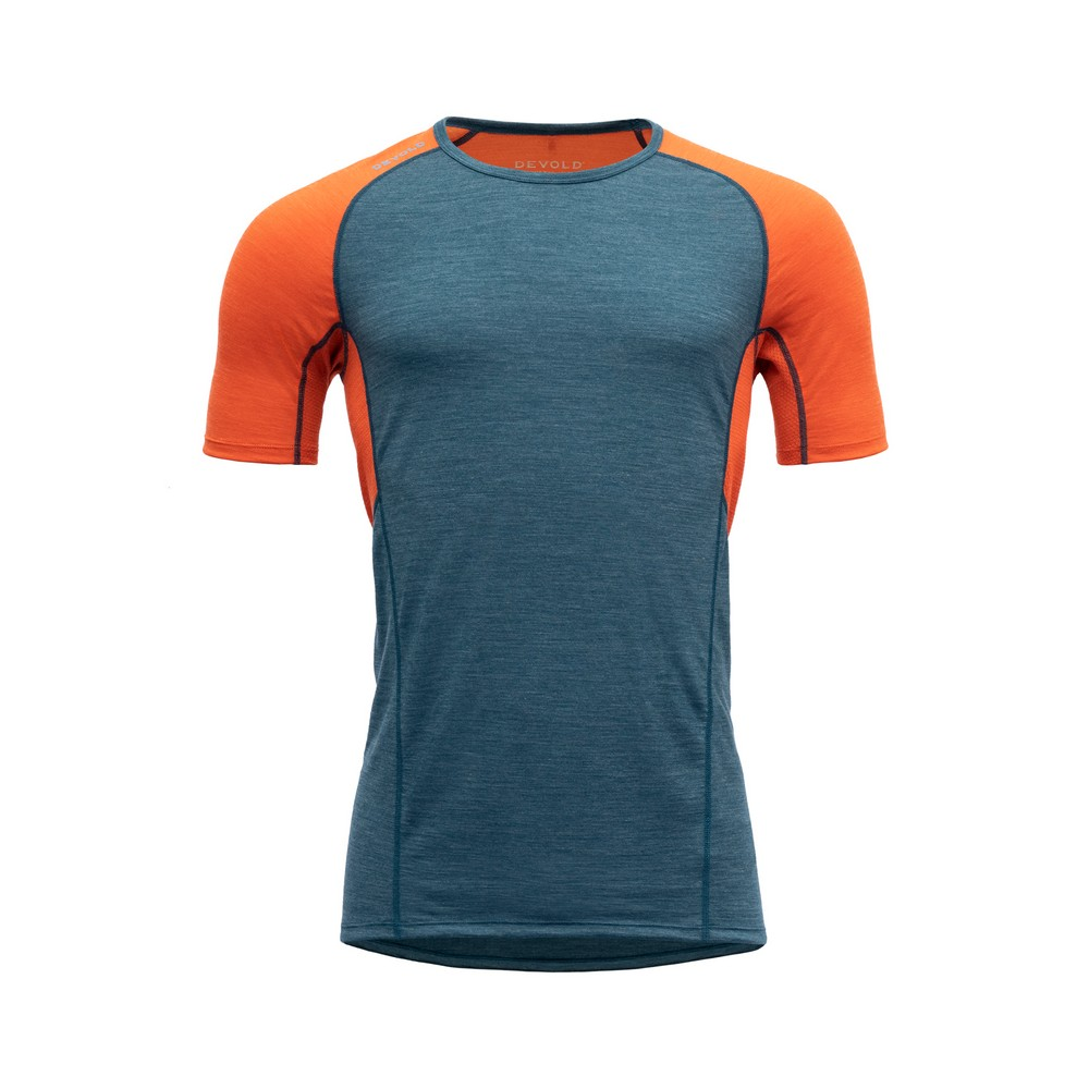 "Devold ""Running Man T-Shirt"" - pond"