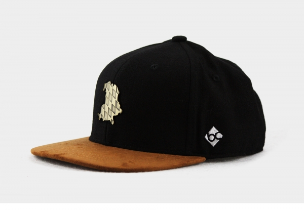 "Bavarian Caps ""Freistaat""- schwarz"