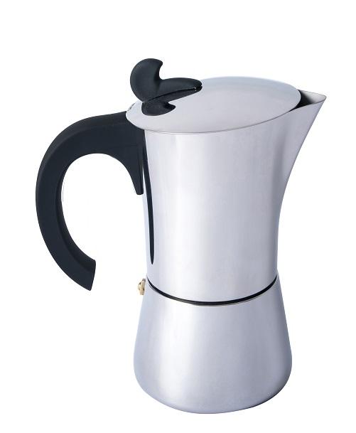 "Basic Nature ""Espresso Maker Edelstahl"" - 4 Tassen"