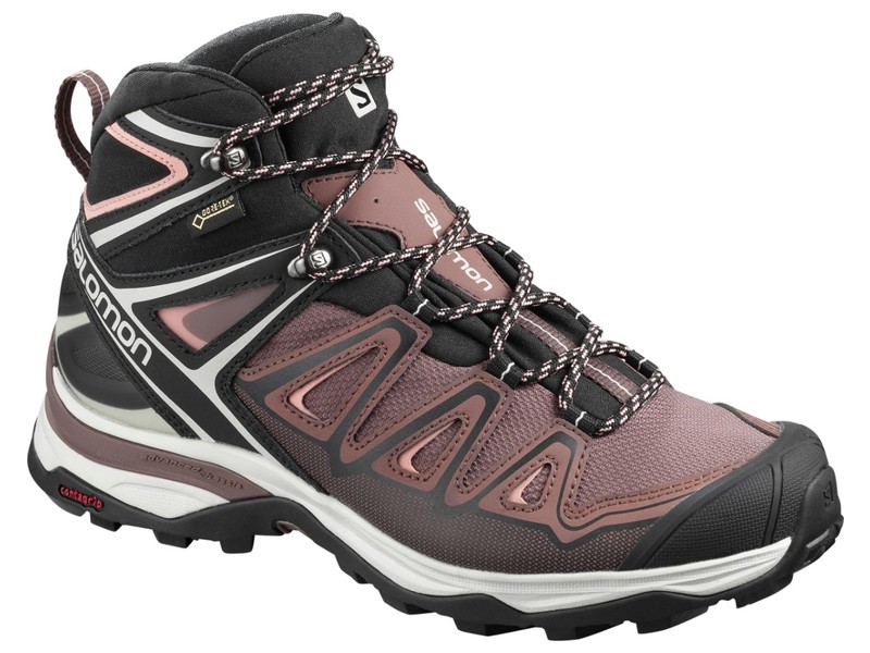 "Salomon ""X ULTRA 3 MID GTX W"" - peppercorn"