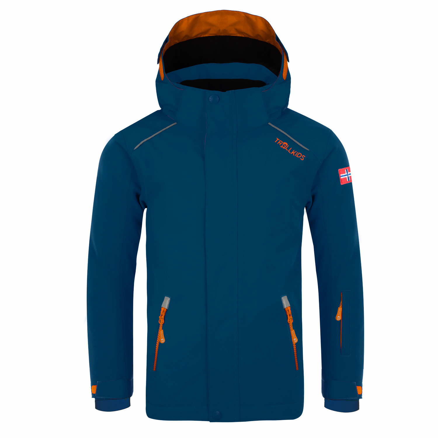 "Trollkids ""Kids Holmenkollen Snow Jacket"" - navy/orange"