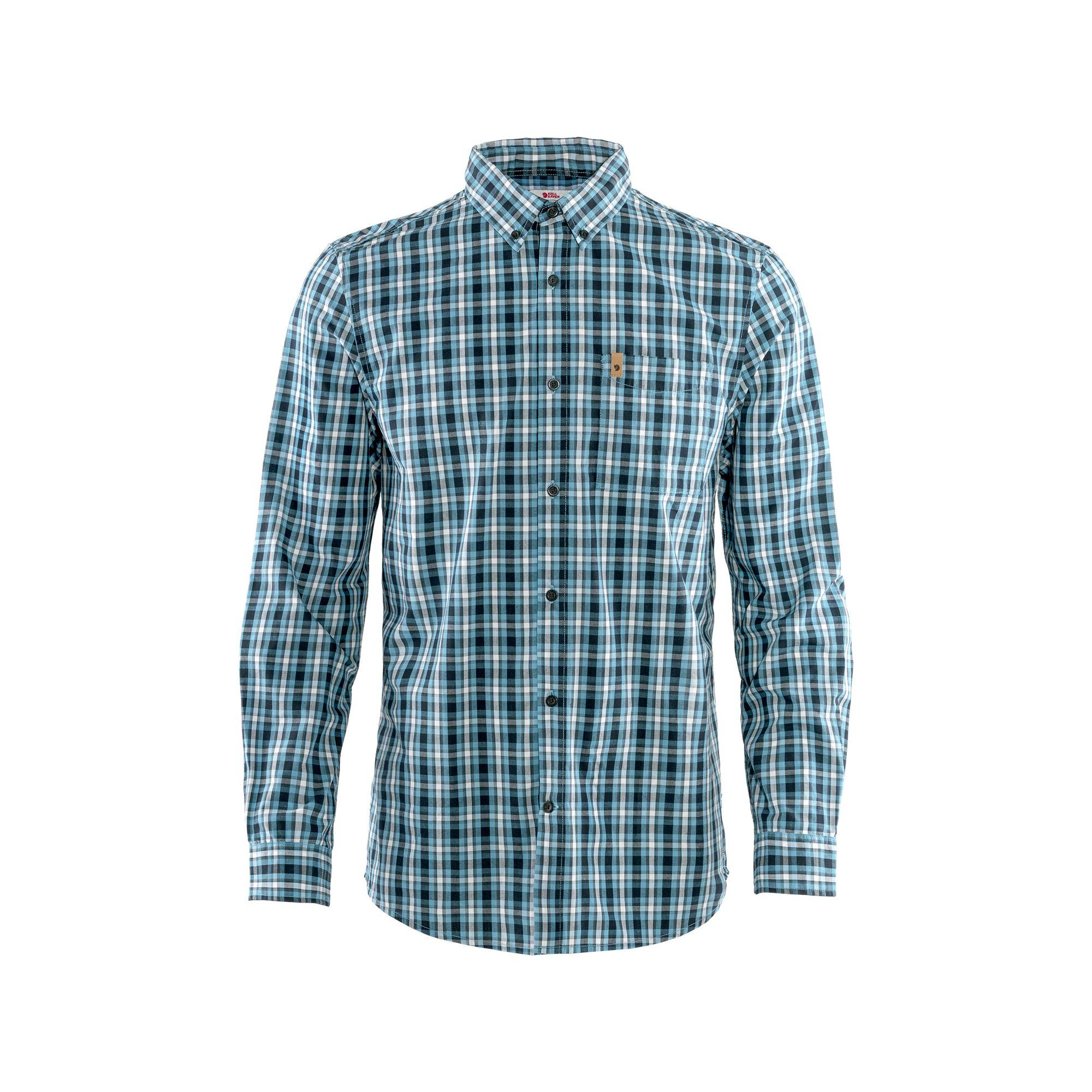 "Fjällräven ""Övik Shirt LS M"" - dusk"