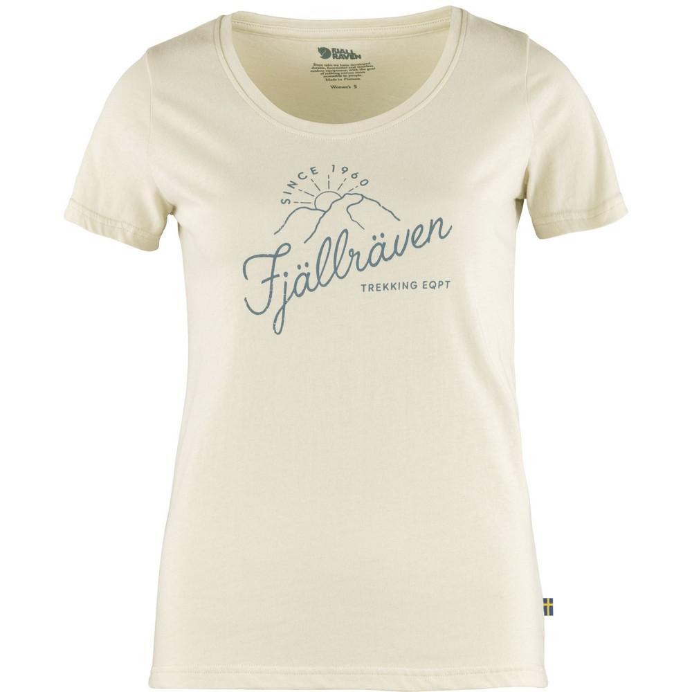"Fjällräven ""Sunrise T-shirt W"" - chalk white"