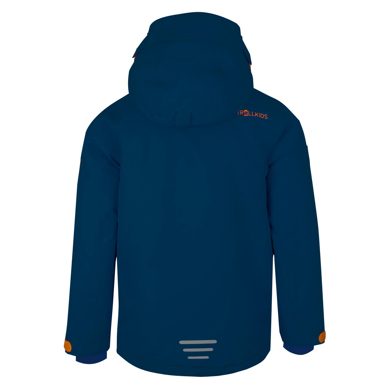 "Trollkids ""Kids Holmenkollen Snow Jacket"" - navy/orange"