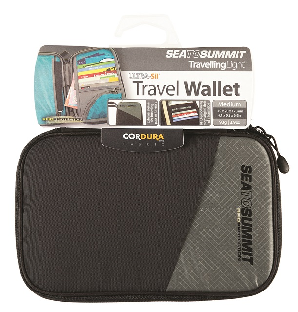 "Sea to Summit ""Travel Wallet RFID Small"" - black"