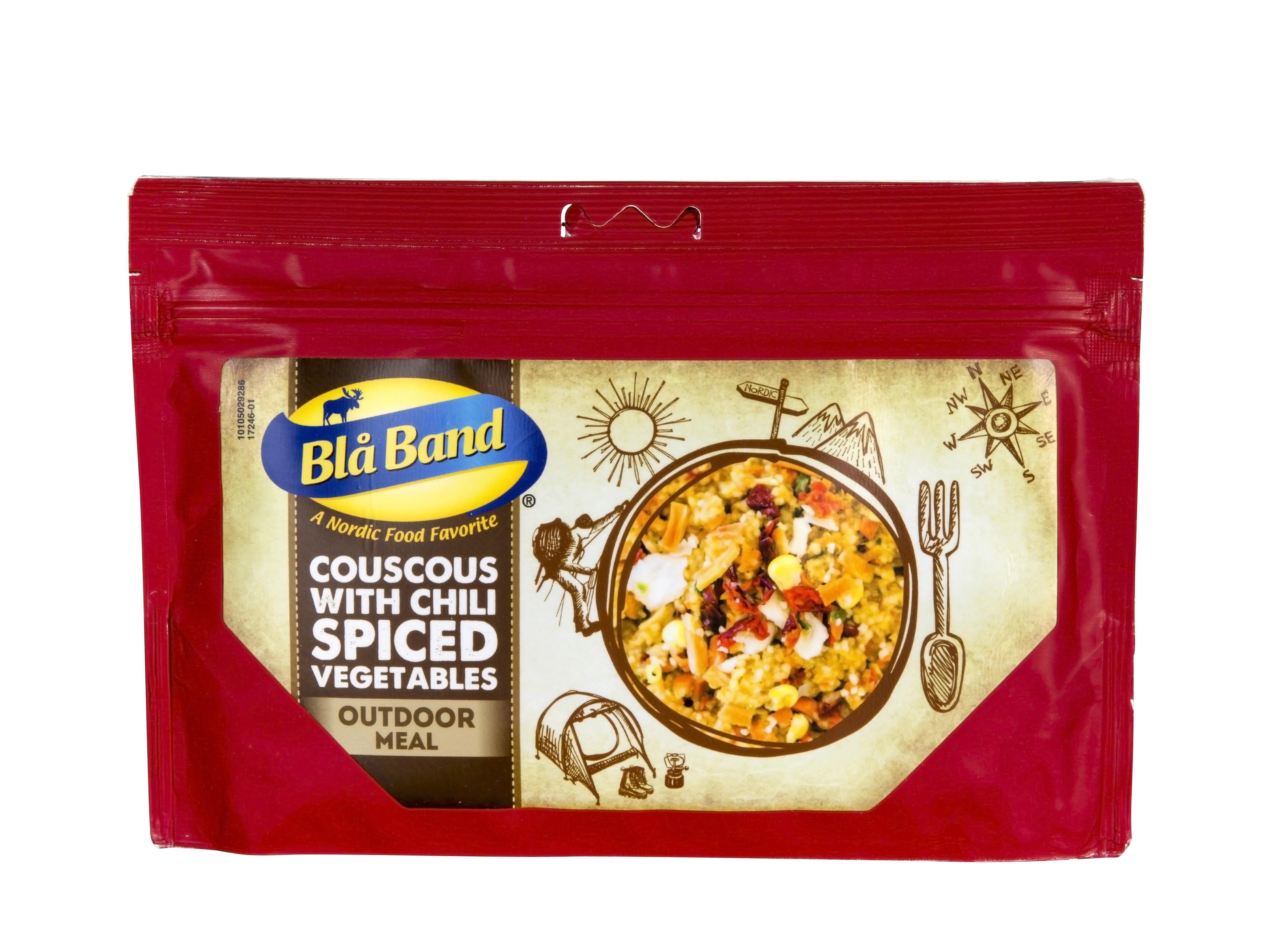"""Bla Band Hauptgericht """"Couscous mit Chili und Gemüse"""""""