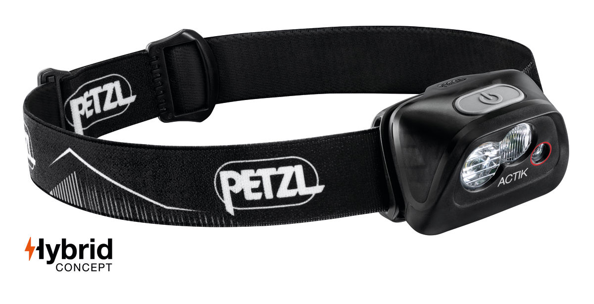 "Petzl ""Actik"" - Schwarz"
