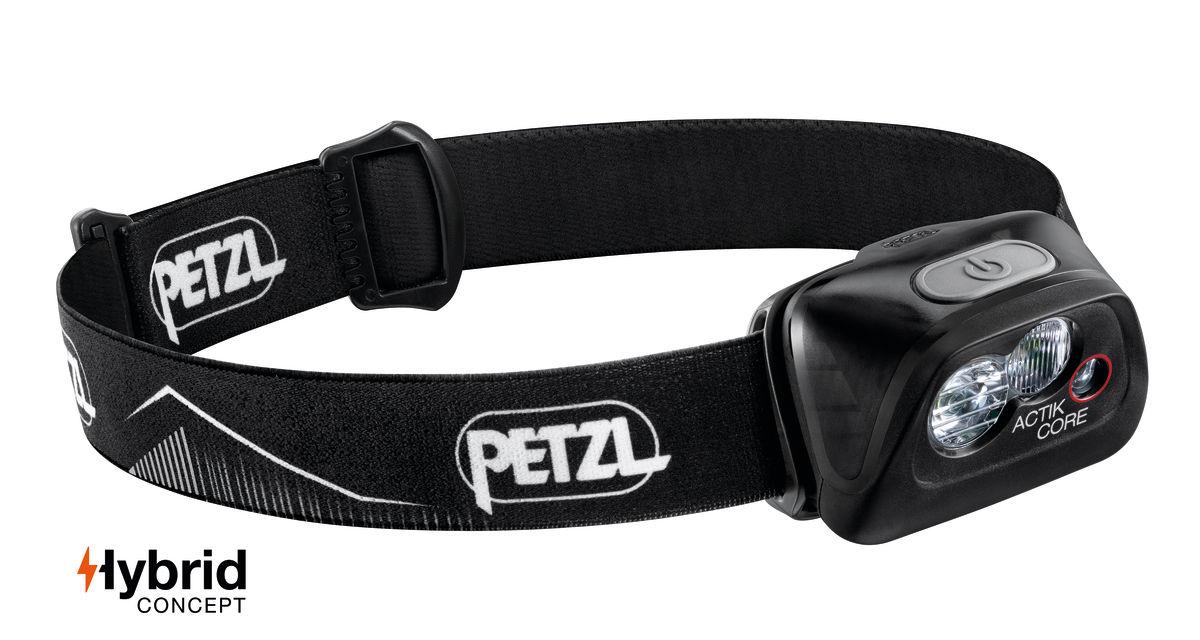 "Petzl ""Actik Core"" - Schwarz"