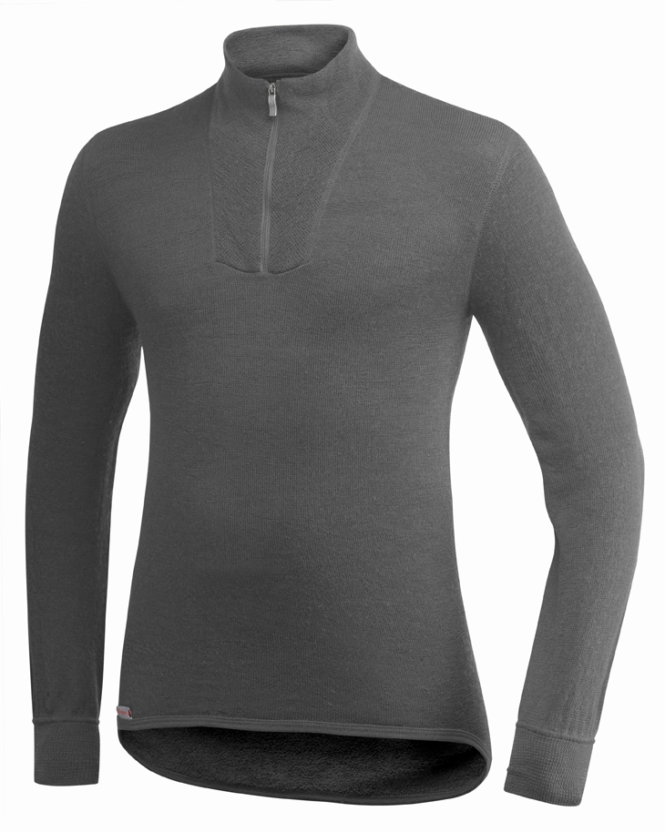 "Woolpower ""200 Turtelneck"" - grey"