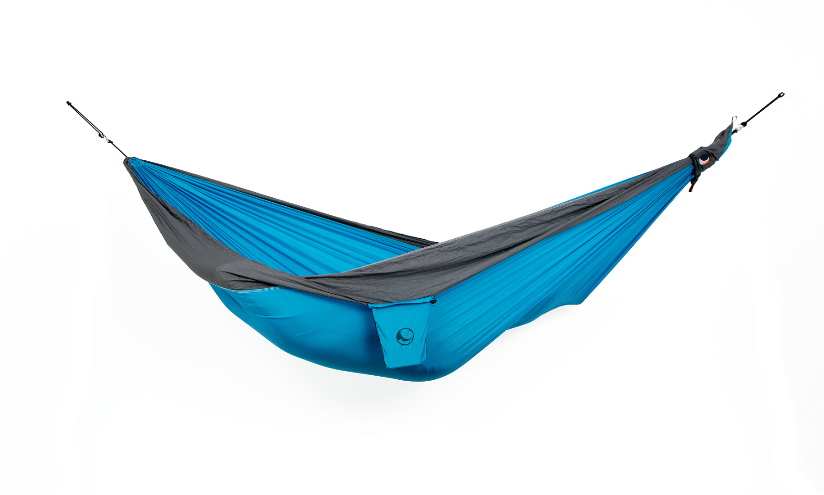 "Ticket to the Moon ""Original Hammock"" - aqua/ dark grey"