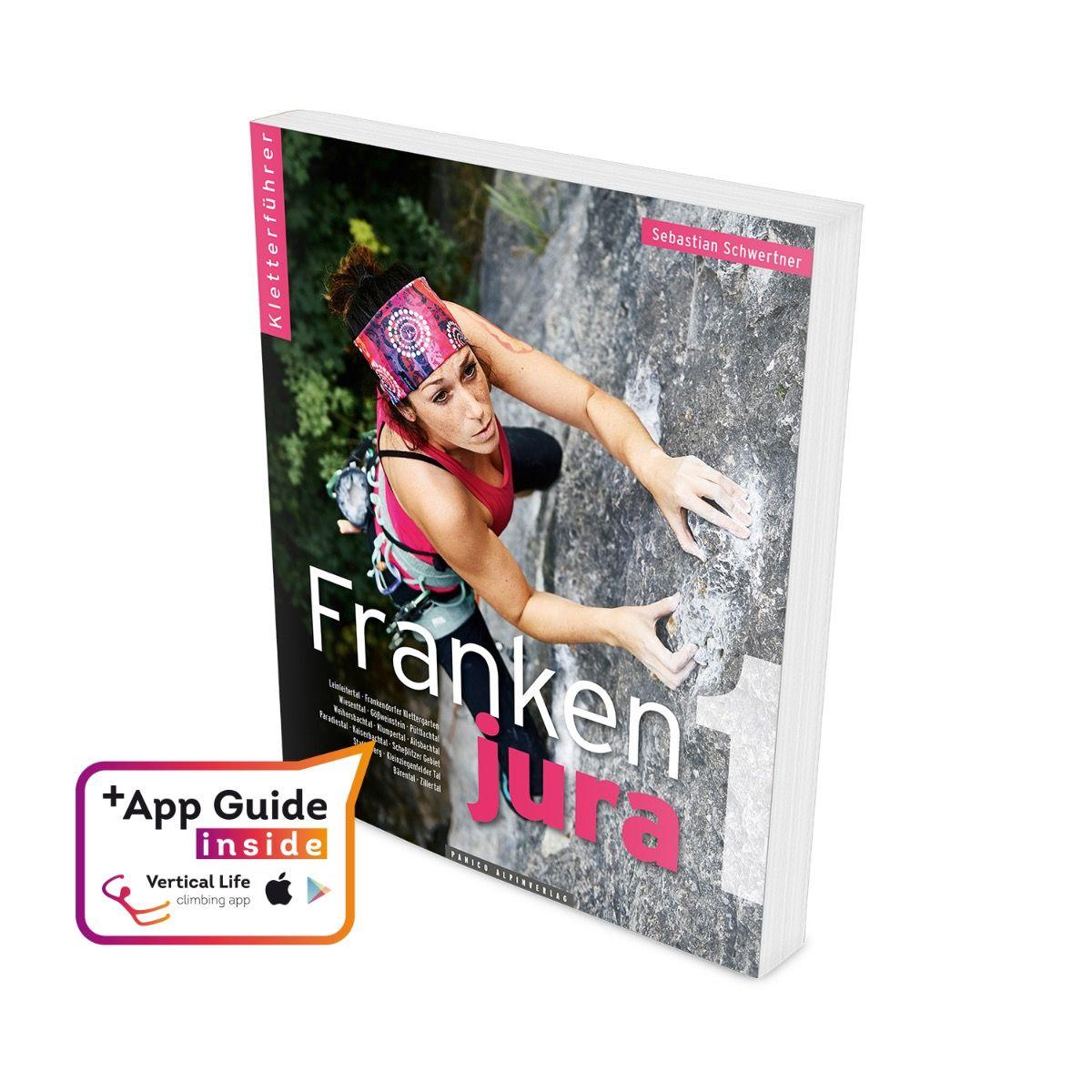"""Panico Kletterführer """"Frankenjura""""- Band 1"""