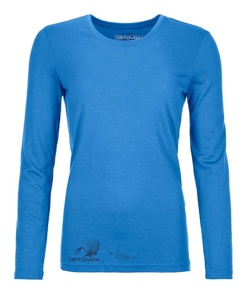 "Ortovox ""185 Merino Logo Spray LS W"" - sky blue"