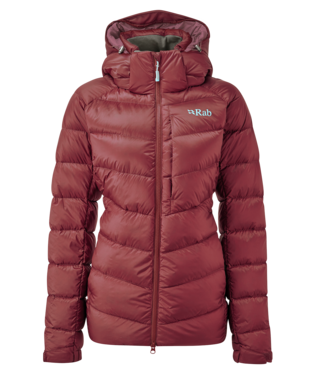 "Rab ""Axion Pro Jacket Wmn"" - oxblood red"