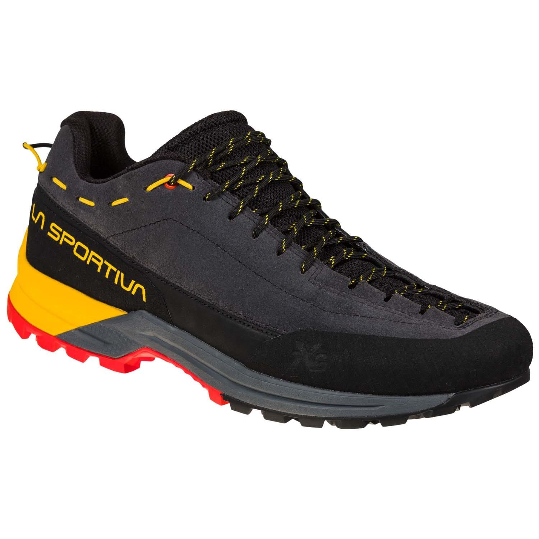 "La Sportiva ""TX Guide Leather"" - carbon/yellow"