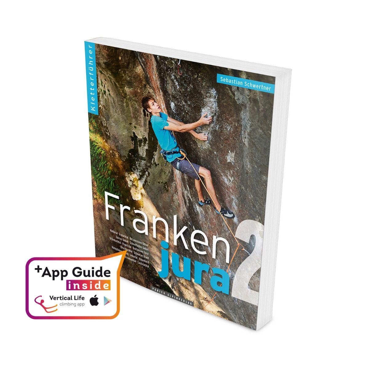 """Panico Kletterführer """"Frankenjura""""- Band 2"""