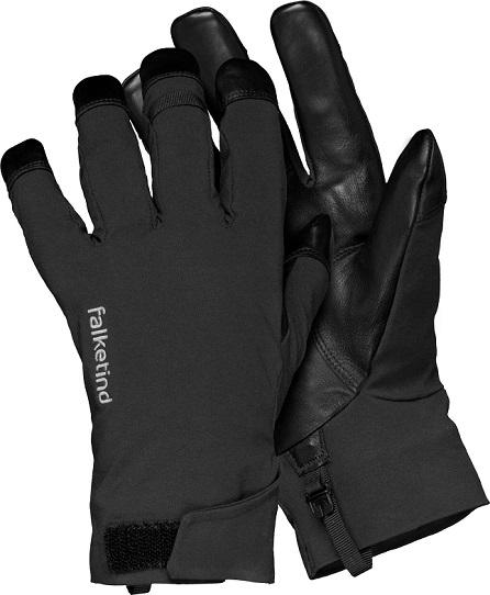 "Norrona ""Falketind Dri Short Gloves"" - caviar"