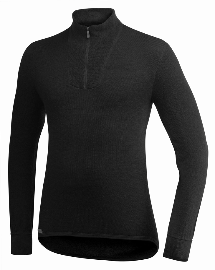 "Woolpower ""200 Turtelneck"" - black"